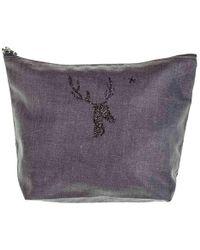 Black.co.uk - Vendome 'deer' Large Make Up Bag - Lyst