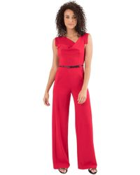 f59e8e14cdd Lyst - Black Halo Jackie Jumpsuit in Purple