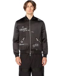 Blood Brother - Loading Bomber In Black - Lyst