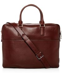 Cole Haan - Hamilton Grand Leather Briefcase - Lyst