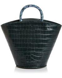 Loeffler Randall - Agnes Croc-embossed Leather Tote - Lyst