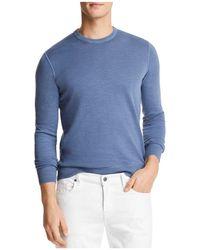 Bloomingdale's - Garment Dyed Crewneck Sweatshirt - Lyst