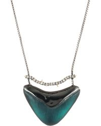 Alexis Bittar - Lucite Pendant Necklace - Lyst