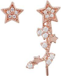 Olivia Burton - Celestial Star Ear Crawler & Stud Earring Set - Lyst