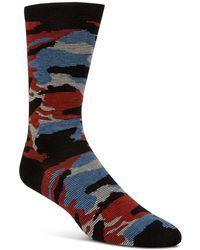 Cole Haan - Camouflage-print Socks - Lyst
