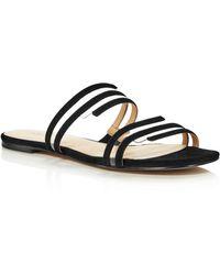 Botkier - Women's Maisie Suede Illusion Slide Sandals - Lyst