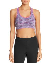 Marc New York - Performance Space Dyed Cutout Sports Bra - Lyst