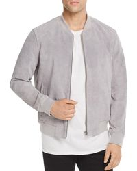 Blank NYC - Suede Bomber Jacket - Lyst