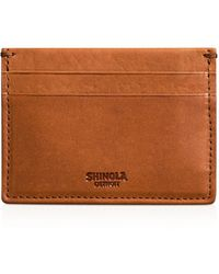 Shinola - 5 Pocket Card Case - Lyst