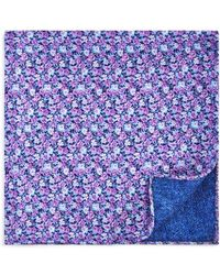 Bloomingdale's - Ditsy Floral Reversible Pocket Square - Lyst