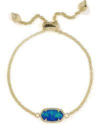 Kendra Scott - Elaina Kyocera Opal Bracelet - Lyst