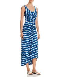 7075bf227f71f Ted Baker  hannaa  Pleated Maxi Dress in Blue - Lyst