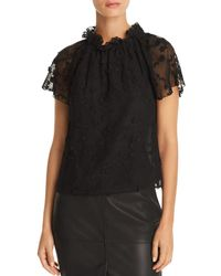 Rebecca Taylor - Ellie Embroidered Top - Lyst