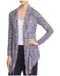 NIC+ZOE - Weather Mix Open-front Cardigan - Lyst