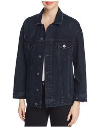 Pistola - Star Denim Jacket In Midnight Blue - Lyst