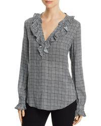 PAIGE - Amalfi Houndstooth Shirt - Lyst