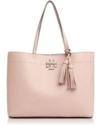 Tory Burch | Mcgraw Medium Leather Tote | Lyst