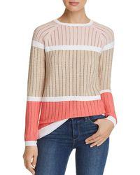 Calvin Klein - Open - Stitch Knit Jumper - Lyst