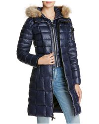 Marc New York - Lindsay Fur Trim Down Coat - Lyst