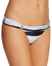 ViX - Sea Glass Stripe Foldover Bikini Bottom - Lyst