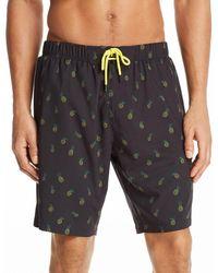 Sovereign Code - Cannonball Pineapple Print Swim Trunks - Lyst