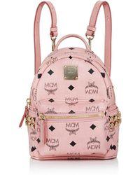 MCM - Stark Side Stud Mini Backpack - Lyst