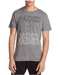 Chaser - Faded Short Sleeve Tee - Lyst