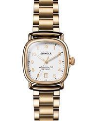 Shinola - The Guardian Bracelet Watch - Lyst