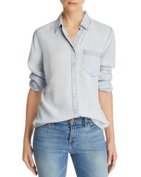 DL1961 - Mercer And Spring Chambray Shirt - Lyst