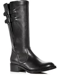 Gentle Souls - Women's Brian Leather Low Heel Boots - Lyst