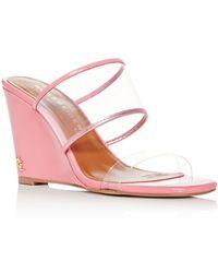 202069a7c913 Kurt Geiger - Women s Charing Wedge Slide Sandals - Lyst