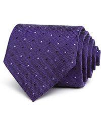 John Varvatos - Heathered Dot Classic Tie - Lyst