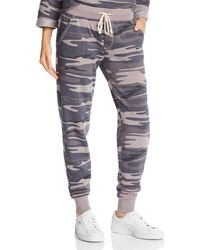 Alternative Apparel - Camo Fleece Jogger Pants - Lyst