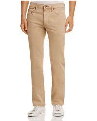 Joe's Jeans - Mccowen Straight Fit Chino Trousers - Lyst