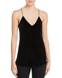 Theory - Velvet Camisole Top - Lyst