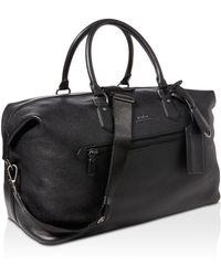 Polo Ralph Lauren - Pebbled-leather Duffel Bag - Lyst