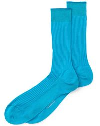 Turnbull & Asser - Cotton Mid Calf Socks - Lyst