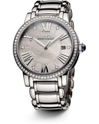 David Yurman - Classic 38mm Stainless Steel Quartz With Diamond Bezel - Lyst