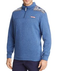 Vineyard Vines - Fair Isle Marlin Quarter-zip Pullover - Lyst