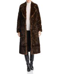 Unreal Fur - The Long Mac Faux Fur Coat - Lyst