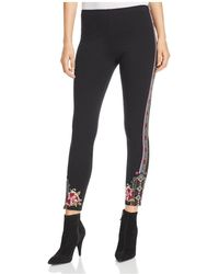 Johnny Was | Langley Embroidered Leggings | Lyst