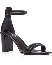 Kenneth Cole - Lex Leather Ankle Strap High Heel Sandals - Lyst