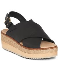 Whistles - Rafi Leather Flatform Sandals - Lyst