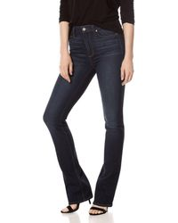 PAIGE - Manhattan Bootcut High - Rise Jeans In Gardena - Lyst