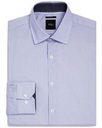 W.r.k.   Micro Stripes Slim Fit Dress Shirt   Lyst
