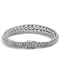 John Hardy - Sterling Silver Classic Chain Graduated Bracelet - Lyst
