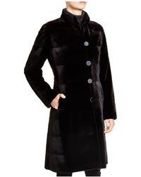 Maximilian | Maximilian Sheared Mink Reversible Coat | Lyst