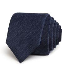 BOSS - Seasonal Textured Skinny Tie - Lyst