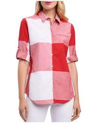 Foxcroft - Gingham Shirt - Lyst