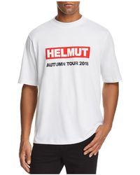 Helmut Lang - Men's Autumn Tour Jersey - Lyst